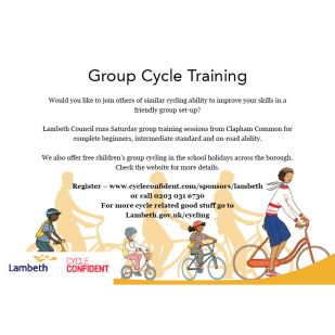 Cycle training for web2