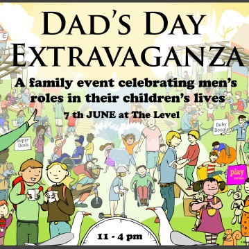 Poster for Brighton and Hove Council Dads Day